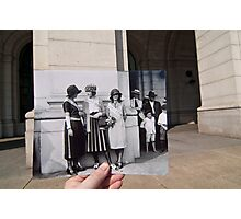 Looking Into the Past: Beauty Pageant Winners, Union Station, Washington, DC Photographic Print