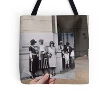 Looking Into the Past: Beauty Pageant Winners, Union Station, Washington, DC Tote Bag