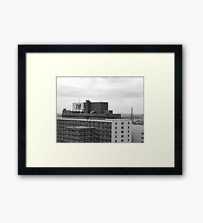 710 Framed Print