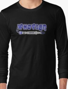 Whovian Screwdriver Long Sleeve T-Shirt