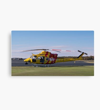 Westpac Rescue helicopter 0001 Canvas Print