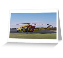 Westpac Rescue helicopter 0001 Greeting Card