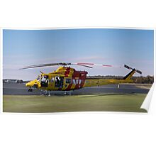 Westpac Rescue helicopter 0001 Poster