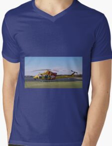 Westpac Rescue helicopter 0001 Mens V-Neck T-Shirt