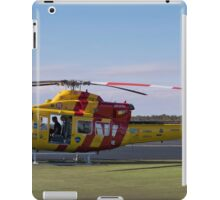 Westpac Rescue helicopter 0001 iPad Case/Skin