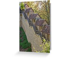 Rothenburg Staircase Greeting Card
