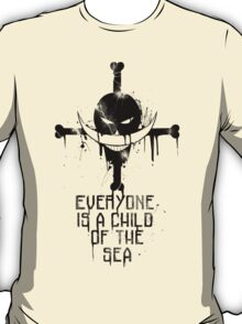 A Child of The Sea - Black T-Shirt