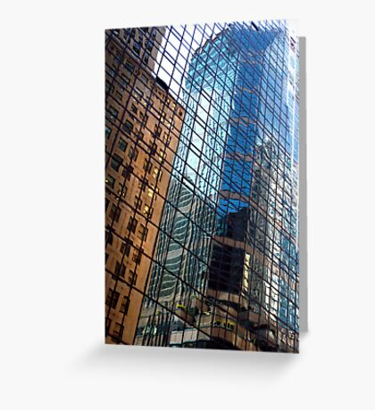 UP THERE 5195 (New York) Greeting Card