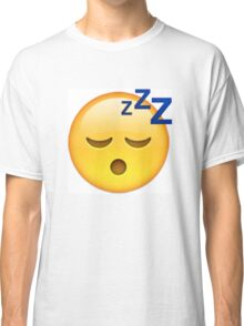 Sleeping Face Emoji Classic T-Shirt