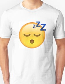 Sleeping Face Emoji Unisex T-Shirt