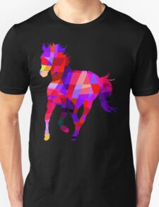 Cool Horse Vector Colors T-Shirt Prints and Stickers T-Shirt