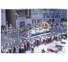 Waratah Festival Parade, Sydney 1963 Poster