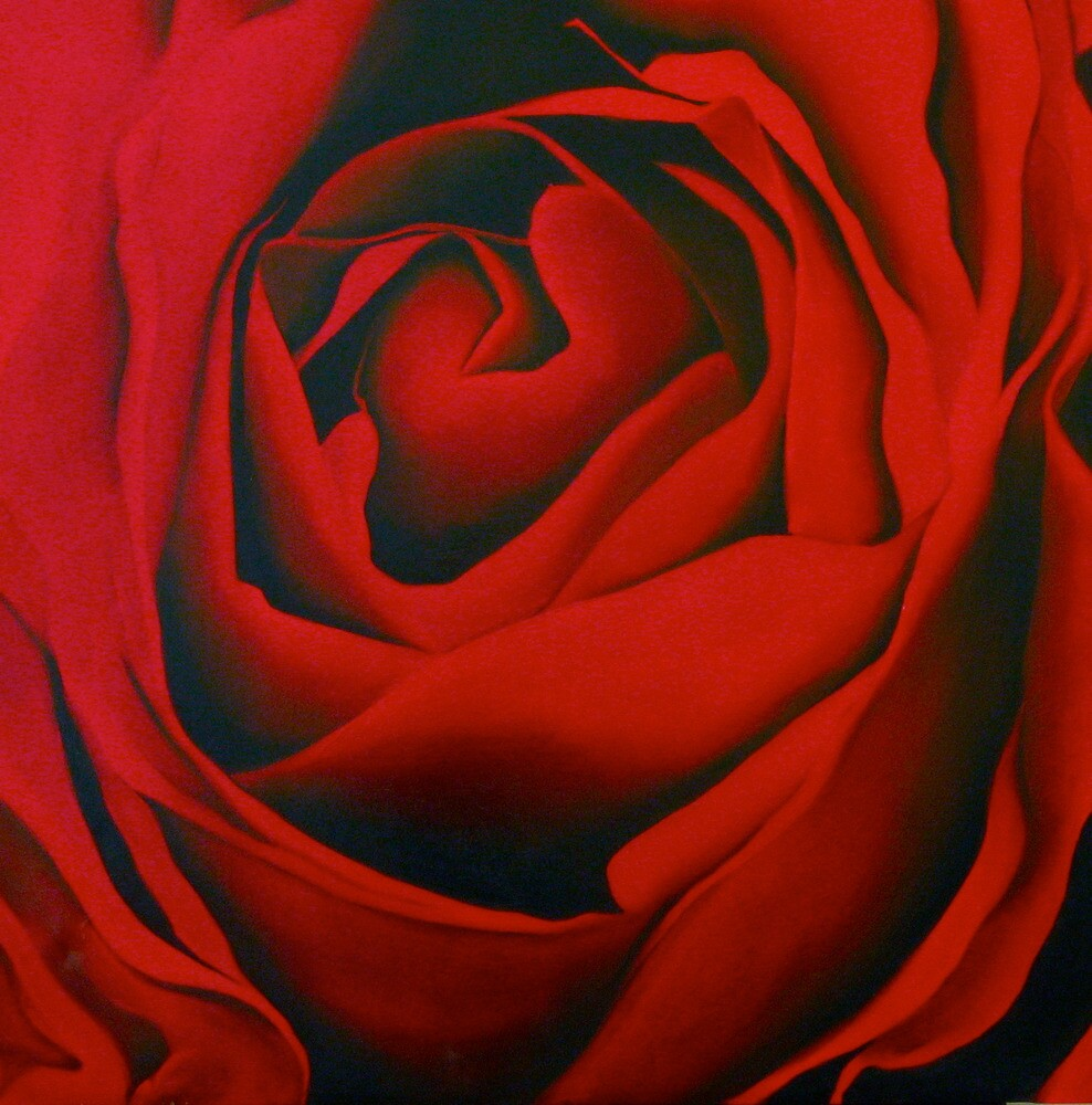 Blood Red by Sally McColl