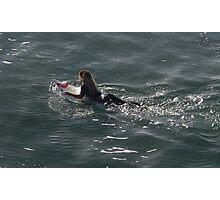Surfer Girl, Surf City, USA Photographic Print