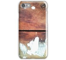 White Paint iPhone Case/Skin