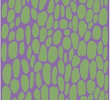 0021 Asparagus Dots with Complementary Color by DayColors