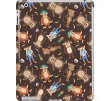 Funny Smiling Monkeys iPad Case/Skin