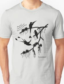 Black booted rackettail hummingbird T-Shirt