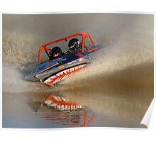 Cabarita V8 Jetsprints - AZ U DO Poster