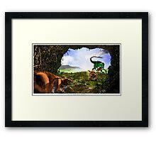 K-T Framed Print