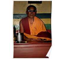 meditation. gangtok, sikkim Poster
