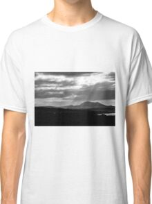 Lanzarote: black and white Classic T-Shirt