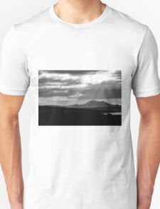Lanzarote: black and white T-Shirt