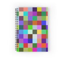 One Color, One emotion Spiral Notebook