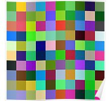 Color Squares 11 Poster