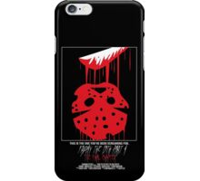 Friday The 13th Part 4: The Final Chapter iPhone Case/Skin