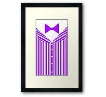 Dapper Dans (Purple) Framed Print