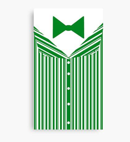 Dapper Dans (Green) Canvas Print