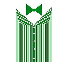 Dapper Dans (Green) Photographic Print