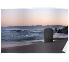 Sunset At Burwood Poster
