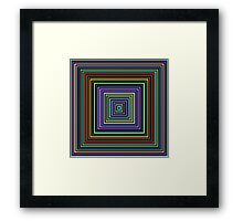 Colors, Colors, Colors!  Framed Print