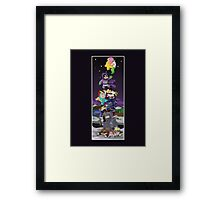 Mysterion to the Rescue Framed Print