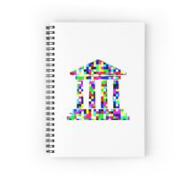 Colorful Buildings Spiral Notebook