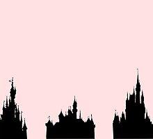 Disney Castles by morganlianne