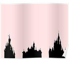 Disney Castles Poster