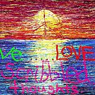 love LOVE...scribbled thoughts. by Willow Wyles