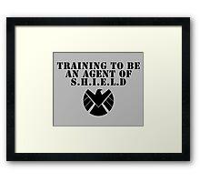 In Training Framed Print