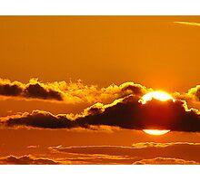 Silken Sunset Photographic Print