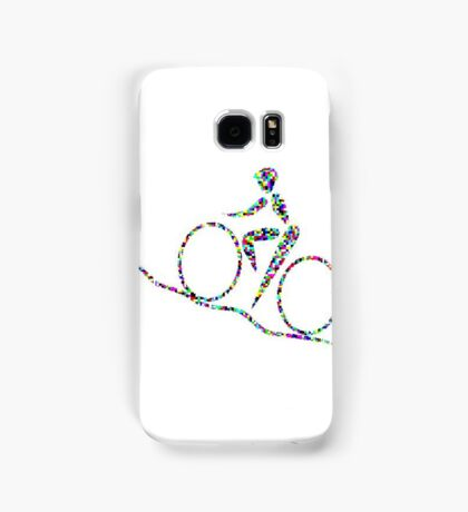 Cycling is a sport of the open road. Samsung Galaxy Case/Skin