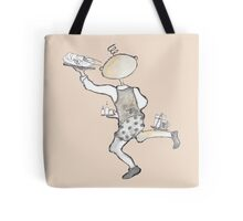 Wildago's Edmund as a Busy Waiter Tote Bag