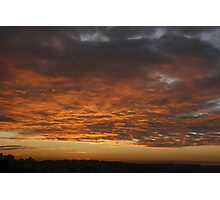 San Francisco sunset over the Presidio Photographic Print