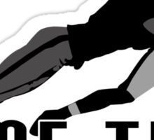 Game Time - Tackle (White) Sticker
