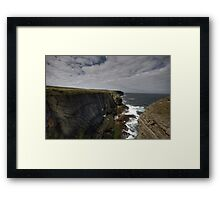 Loop Head Cliffs Framed Print