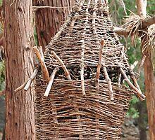 Wood Basket by Chandan Saxena