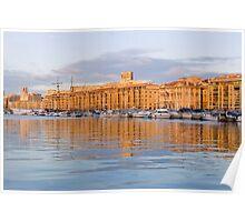 Marseille Vieux Port Poster