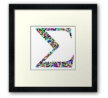 Sum! Framed Print